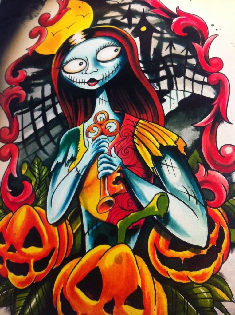 Эскизы на Хэллоуин (2 фото)