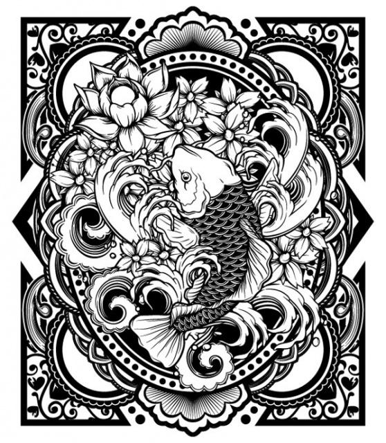 эскиз черно белый (12)