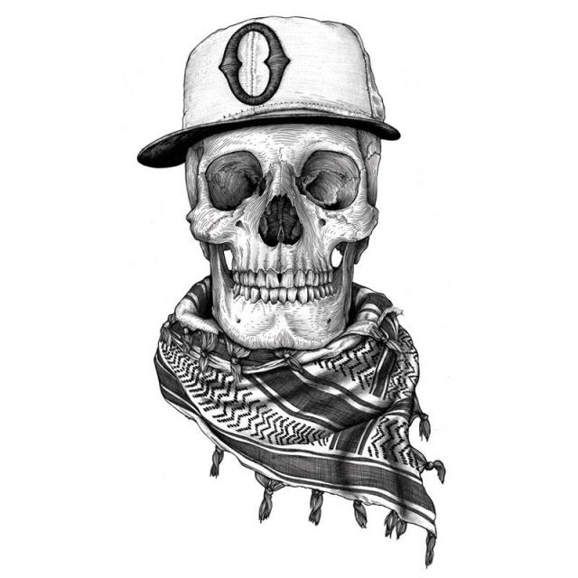 череп татуировки эскизы (5)