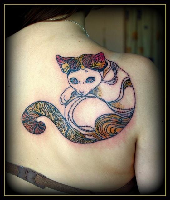 Татуировки кота (2)