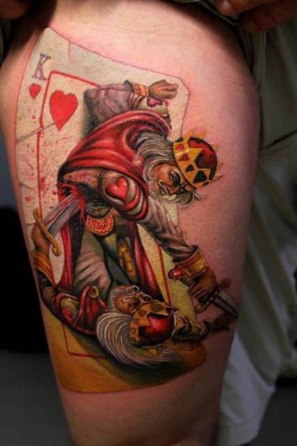 карты татуировки