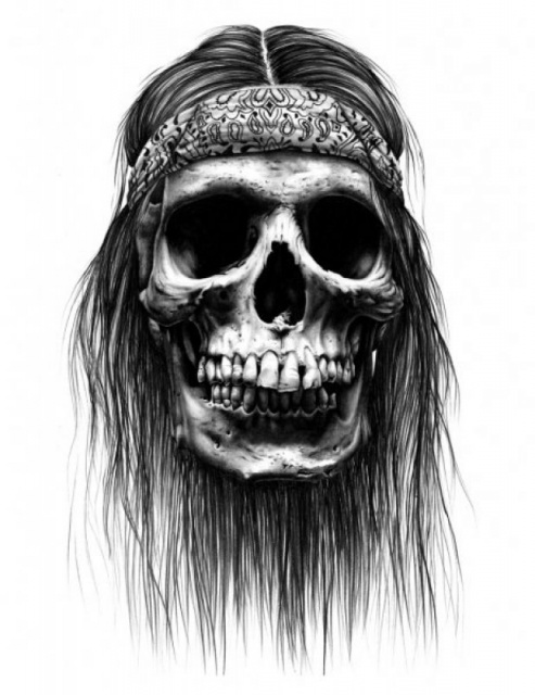 череп татуировки эскизы (3)