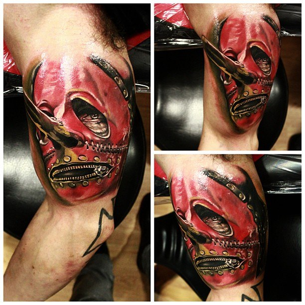 маска татуировка