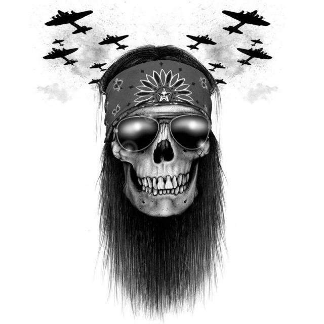 череп татуировки эскизы (1)