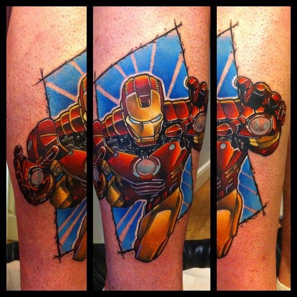 татуировки Железный человек