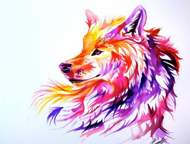Цветные эскизы татуировок (5)