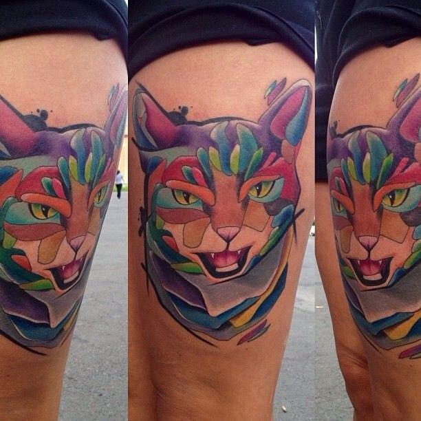 Татуировки кота (1)