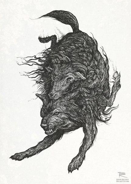 эскизы животных (1)