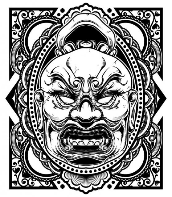 эскиз черно белый (9)