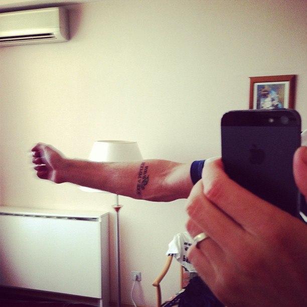 татуировка футболиста