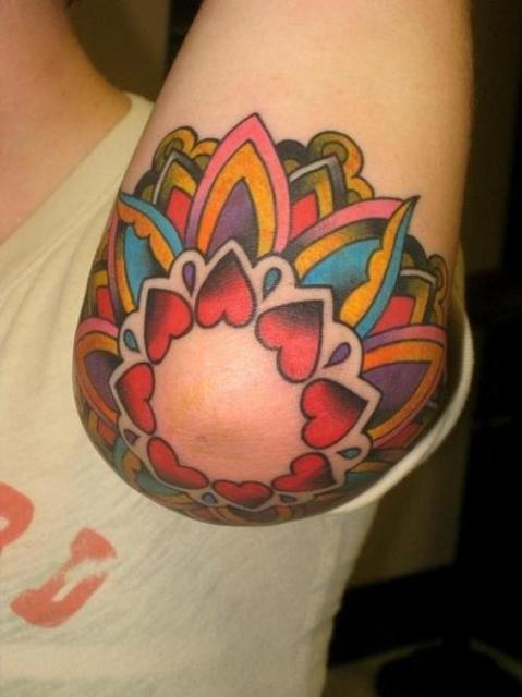 Татуировки на локтях (4)