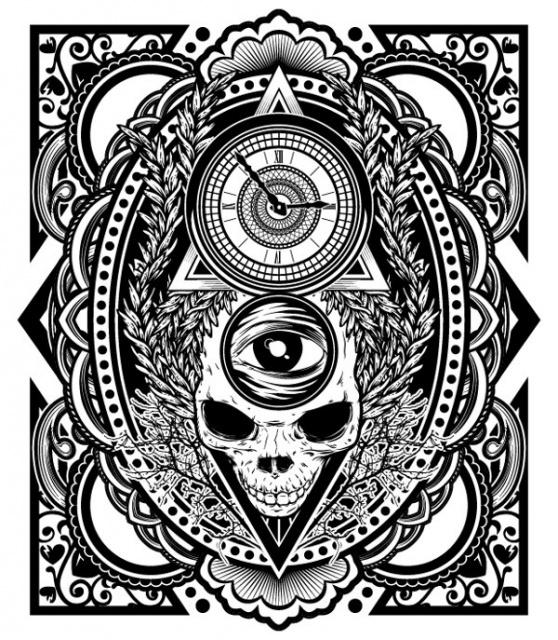 эскиз черно белый (5)
