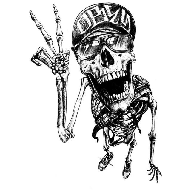 череп татуировки эскизы (2)