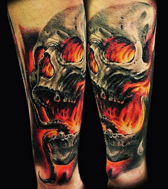 черепа татуировки (2)