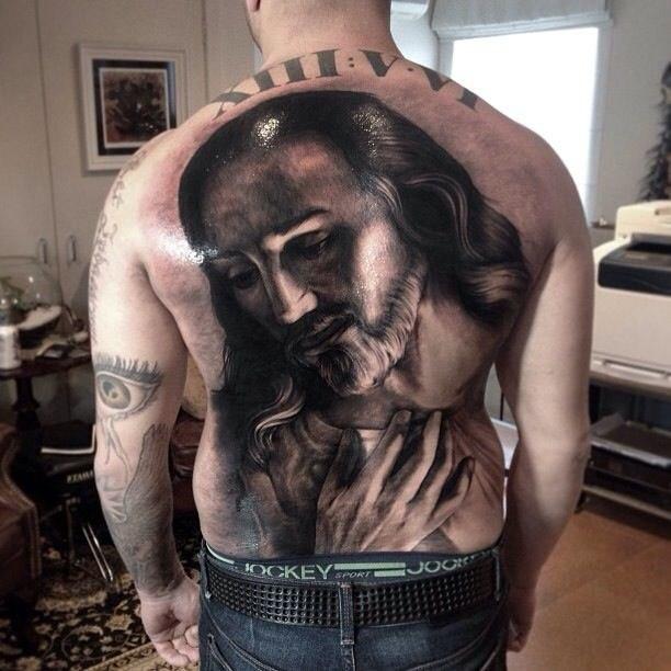 фото религия татуировка