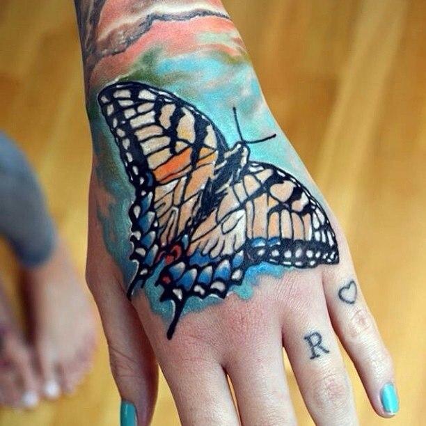 фото татуировок бабочек (1)