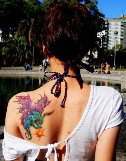 Татуировки из игр Dota и Dota 2 (18)