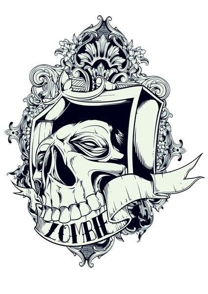 значение татуировок череп (1)