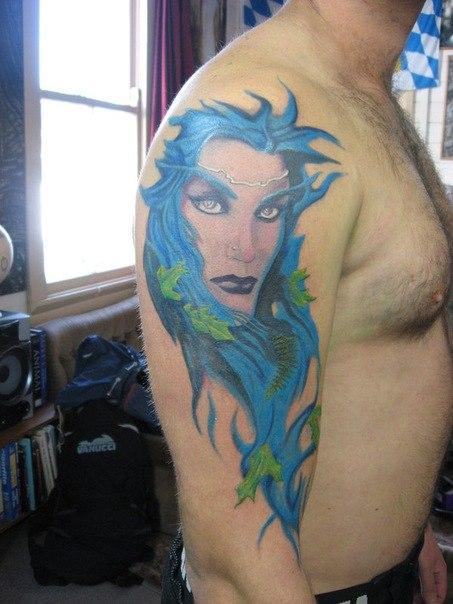 Татуировки из игр Dota и Dota 2 (12)