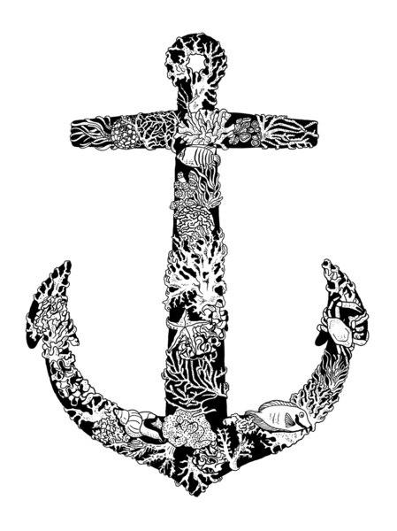 татуировки в виде якоря (5)