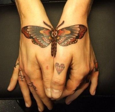 фото татуировок бабочек (6)