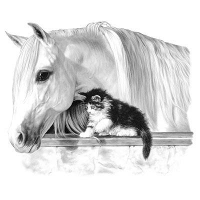 эскизы лошади для татуировок (4)