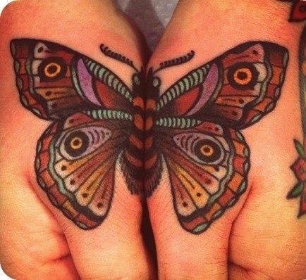 фото татуировок бабочек (4)