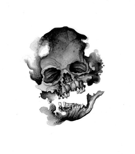 значение татуировок череп (5)