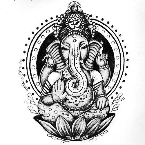 Значение татуировки Ганеш (3)