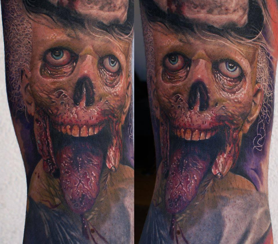 фото татуировки зомби