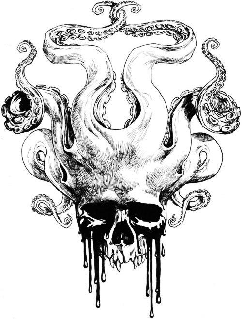 значение татуировок череп (2)