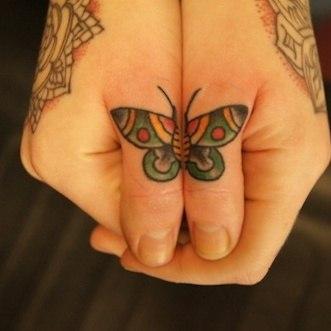 фото татуировок бабочек (3)