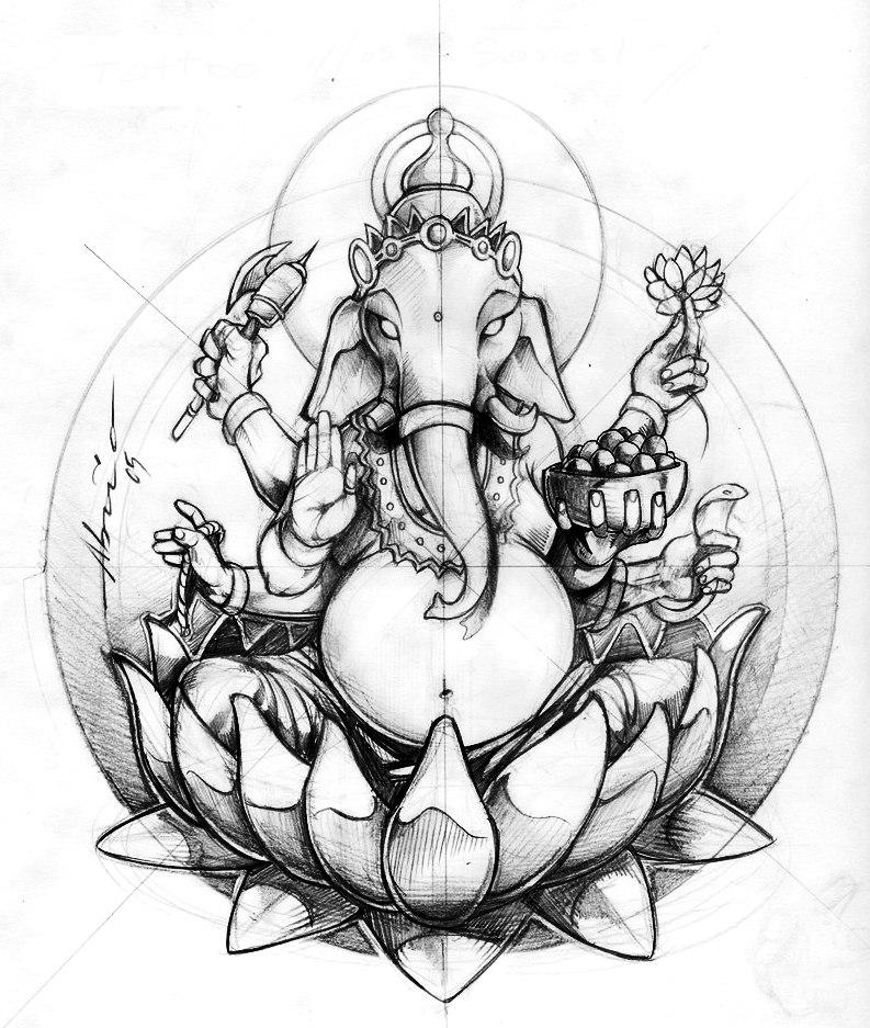 Значение татуировки Ганеш (5)