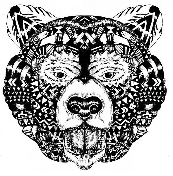 татуировка медведь (5)