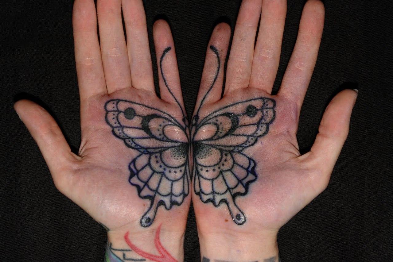 фото татуировок бабочек (5)