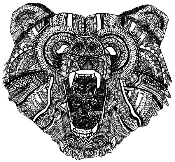 татуировка медведь (3)