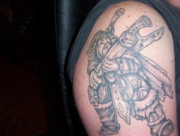 Татуировки из игр Dota и Dota 2 (8)
