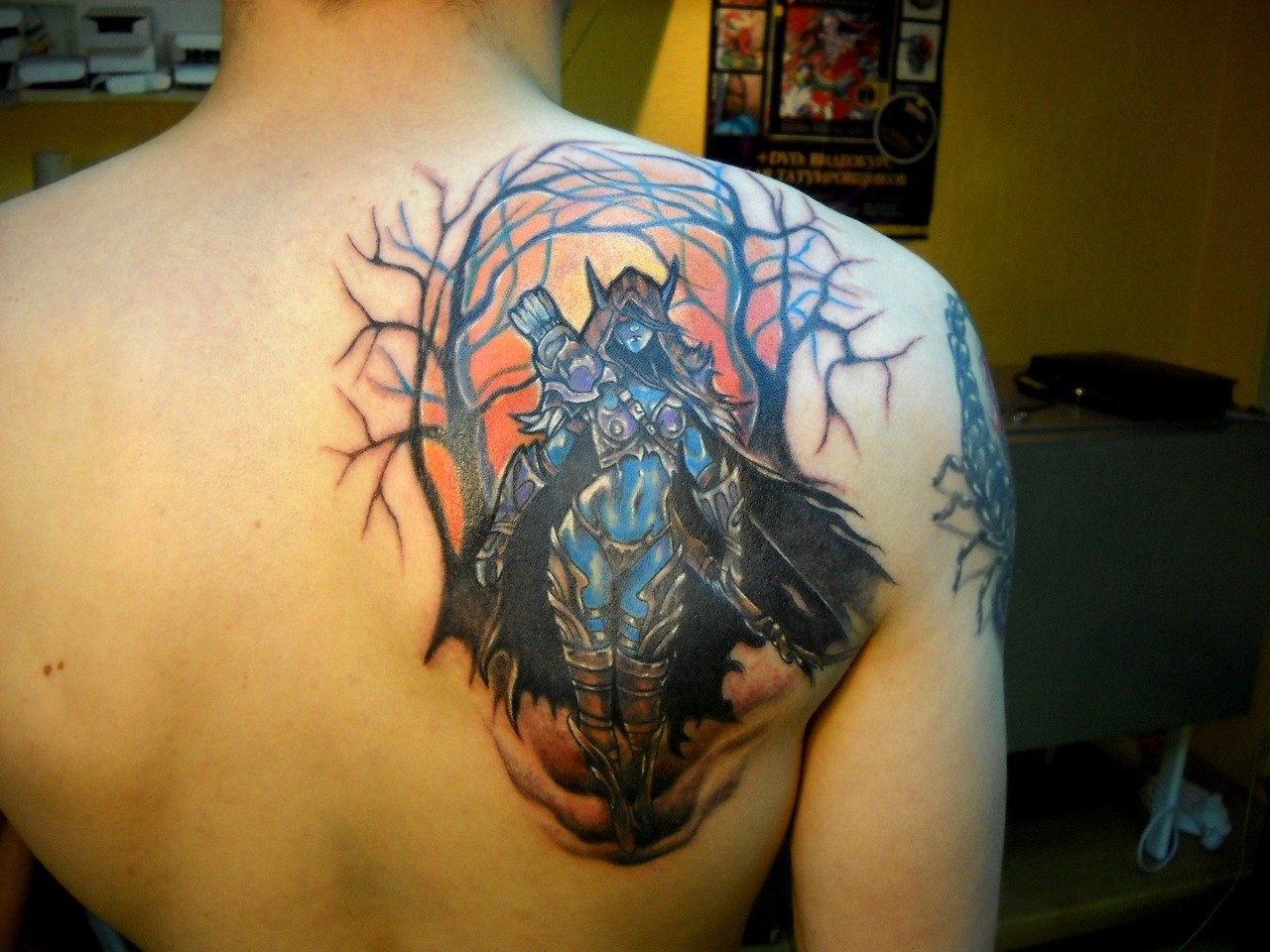 Татуировки из игр Dota и Dota 2 (4)