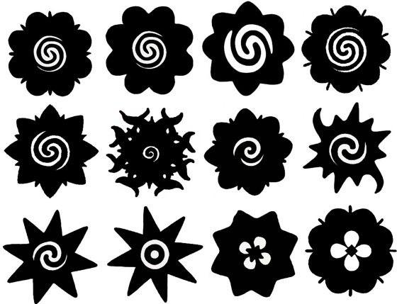значение и фото татуировок роза Борнео