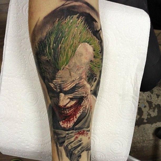 фото татуировки Джокер (Joker)