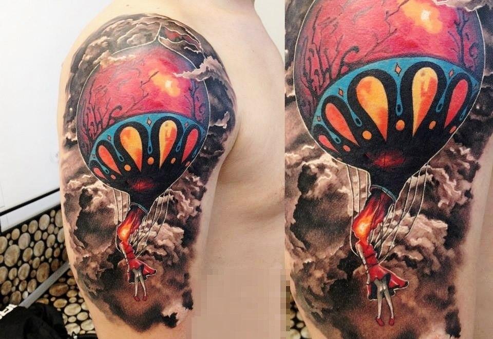 фото татуировки воздушного шара