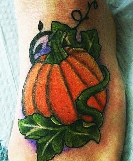 фото татуировок Хэллоуин (5)