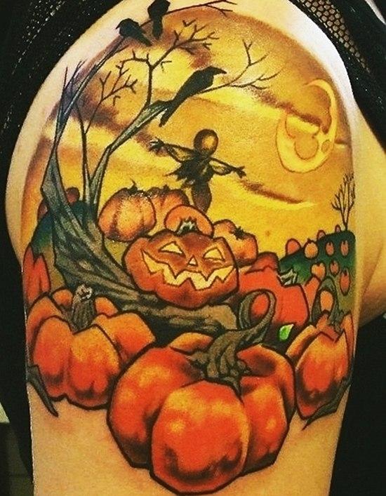 фото татуировок Хэллоуин (4)