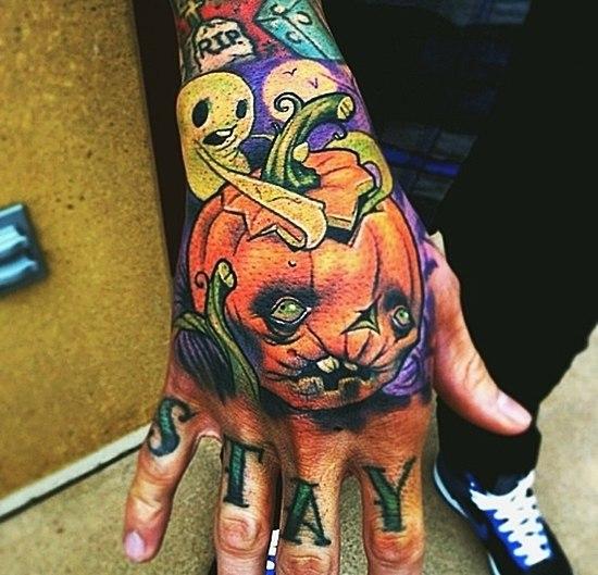 фото татуировок Хэллоуин (3)