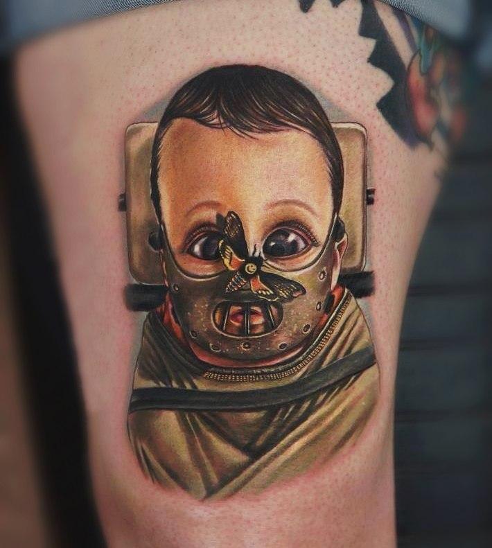 фото татуировки Ганнибал Лектер