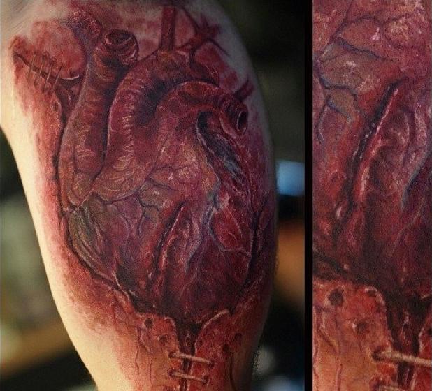 фото татуировки сердца