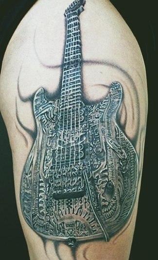 фото музыкальных татуировок (4)