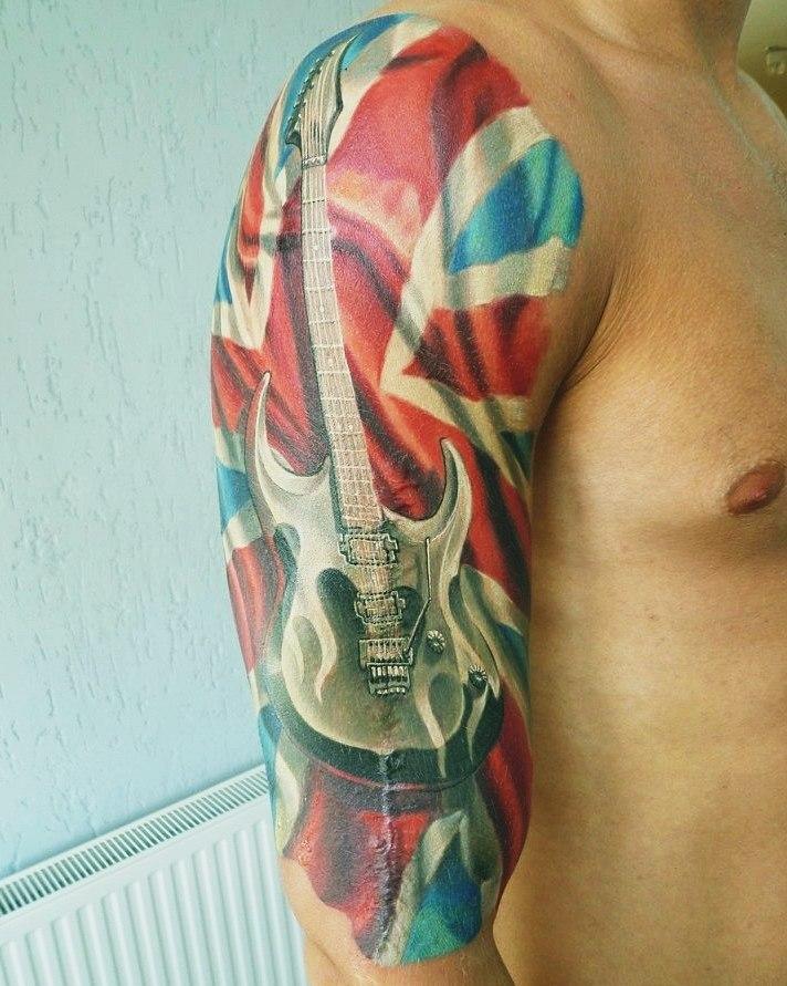 Фото музыкальных татуировок 3
