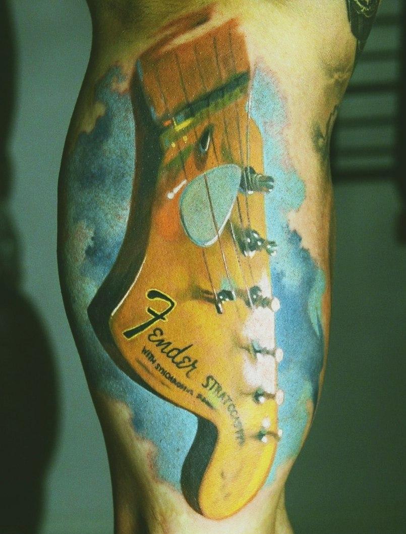 фото музыкальных татуировок (1)