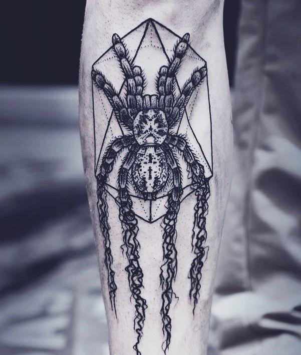 фото татуировки паука (5)
